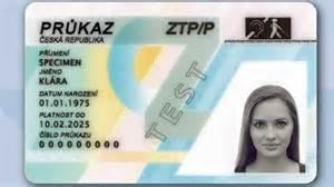 Co Je To Karta Prukaz Tp Ztp A Ztp P Clanky Informace